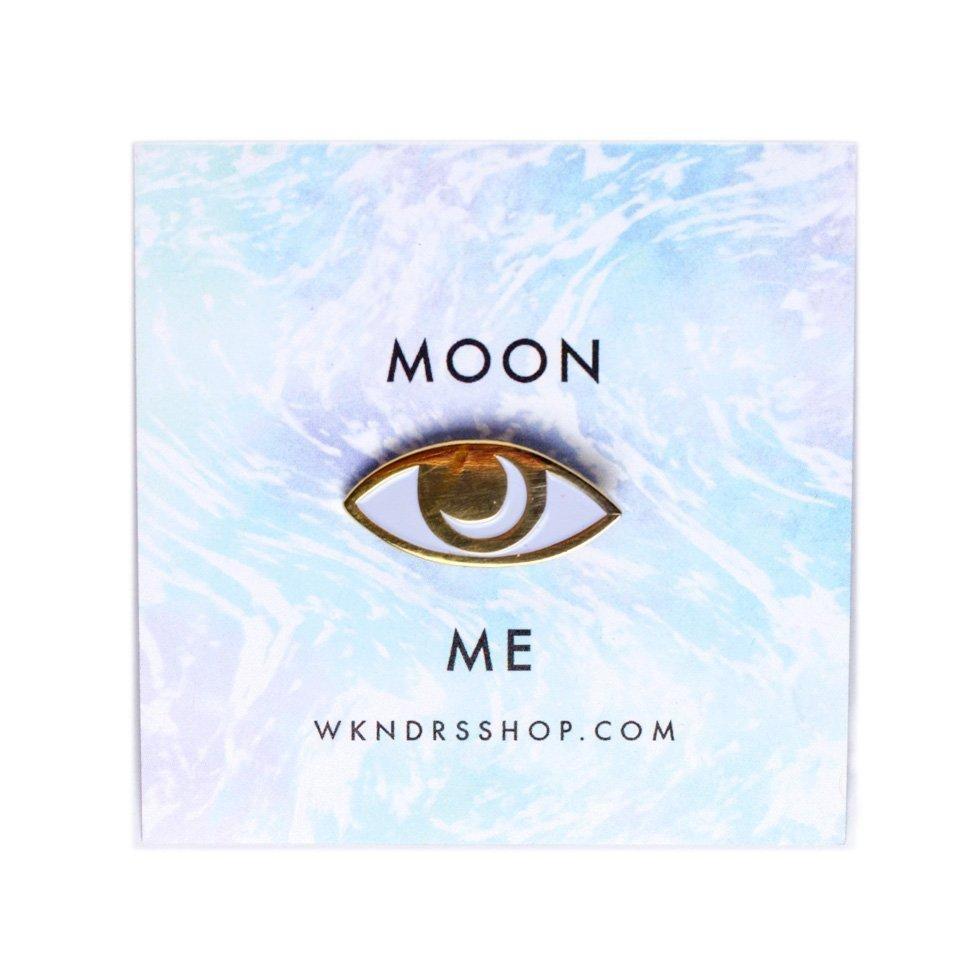 WKNDRS WKNDRS - Moon Me Pin