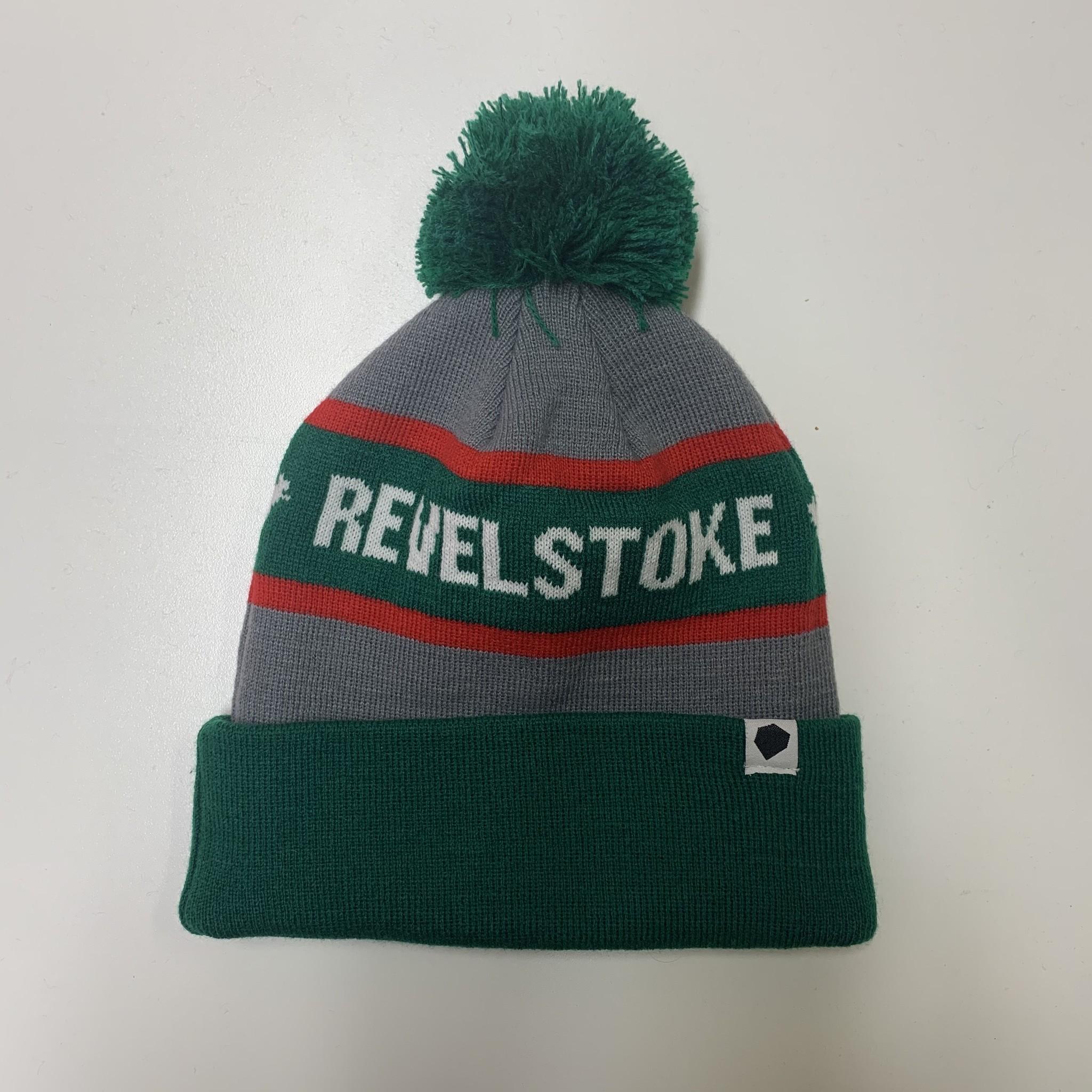 Revelstoke Trading Post Revelstoke - Pom Pom Forrest Green / Grey