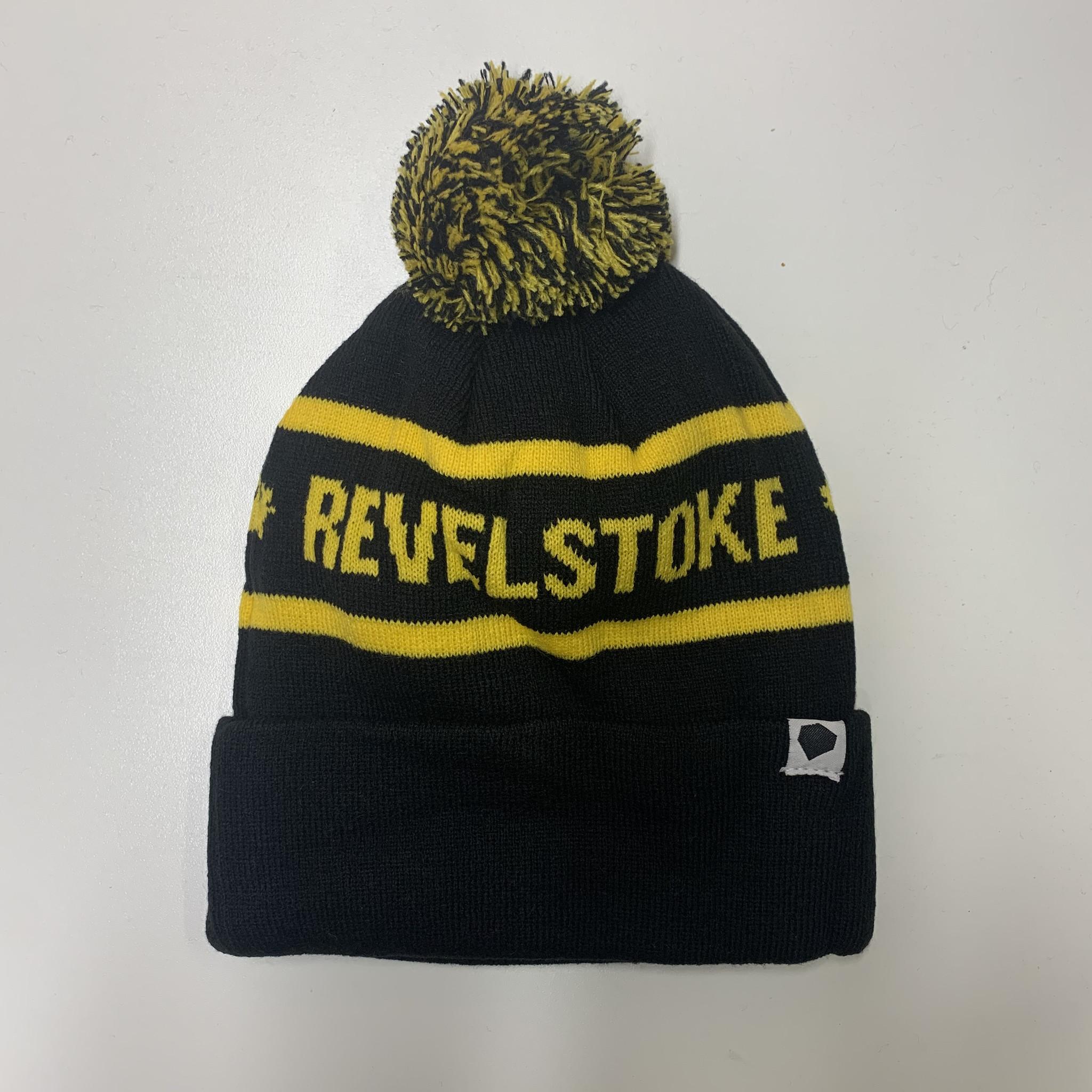 Revelstoke Trading Post Revelstoke - Pom Pom Black/Yellow
