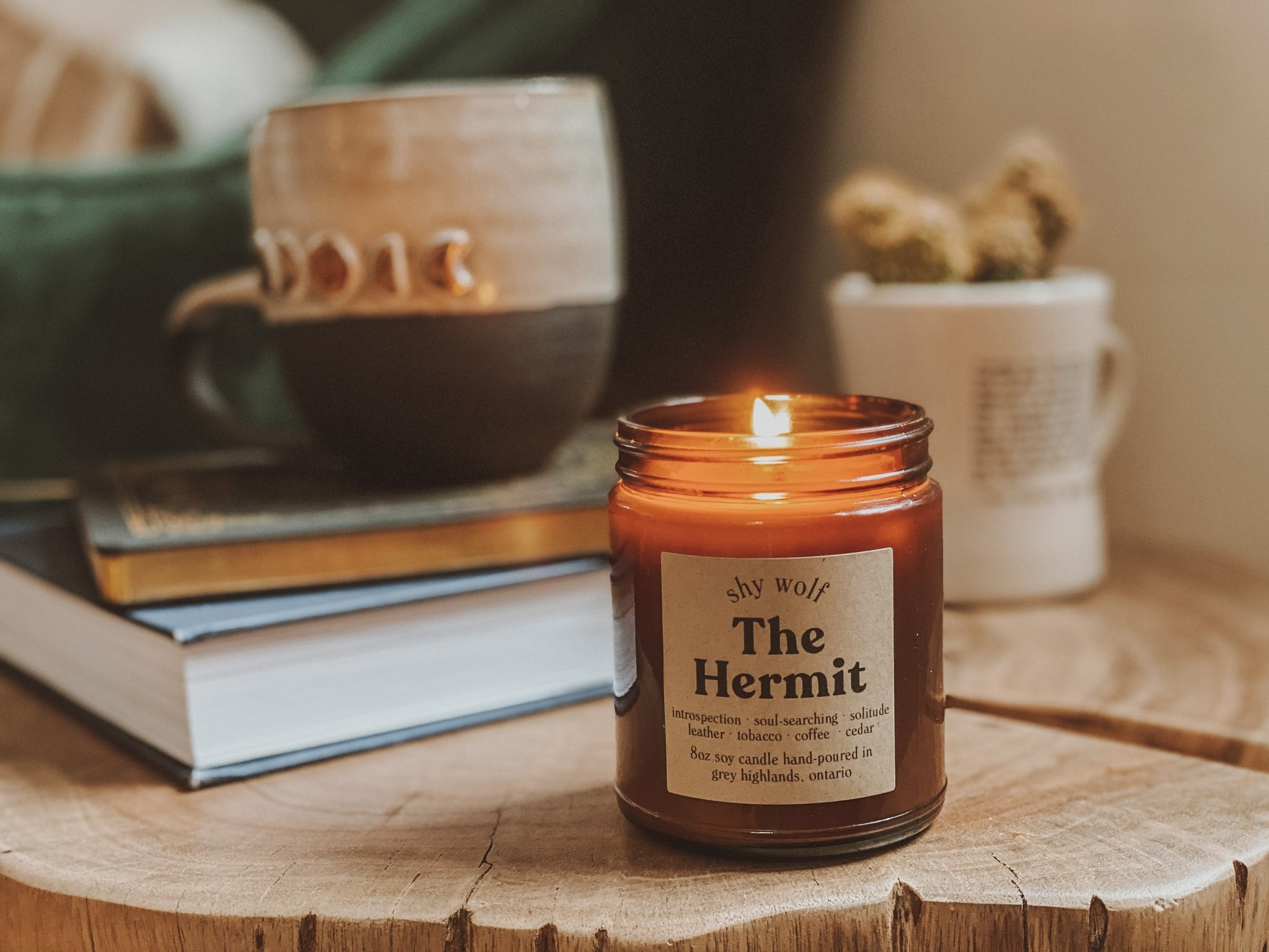 Shy Wolf Candles Shy Wolf Candles - The Hermit