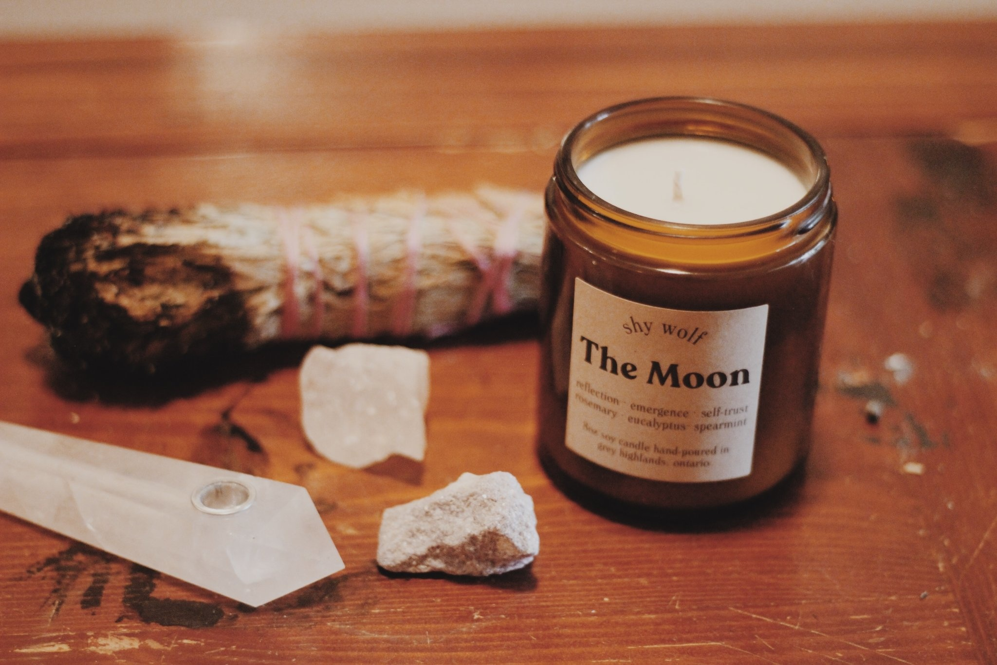 Shy Wolf Candles Shy Wolf Candles - The Moon