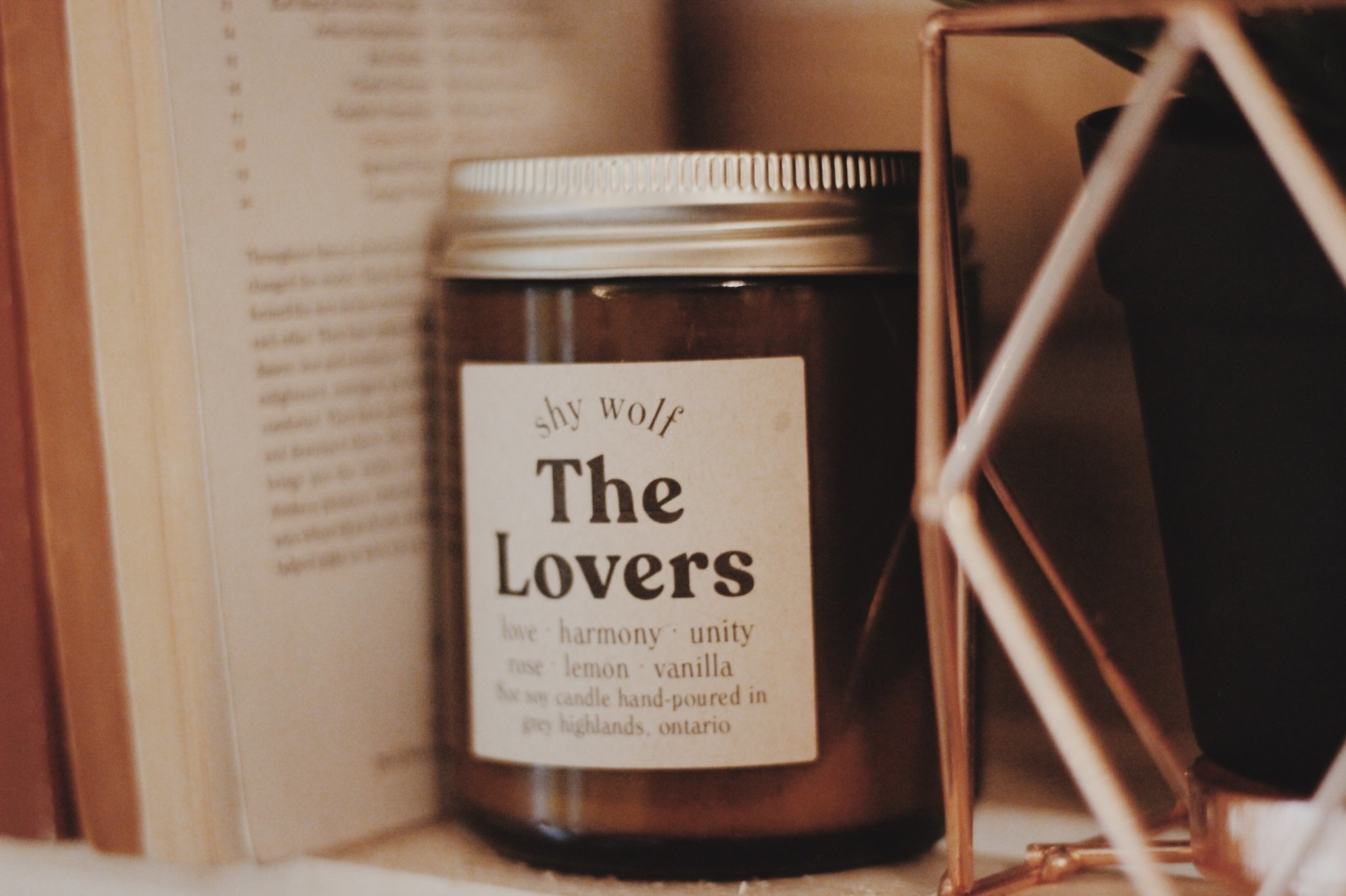 Shy Wolf Candles Shy Wolf Candles - The Lovers