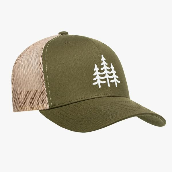 Wild Outdoors Club Wild Outdoors Club - Pines Snapback (Olive/Tan)