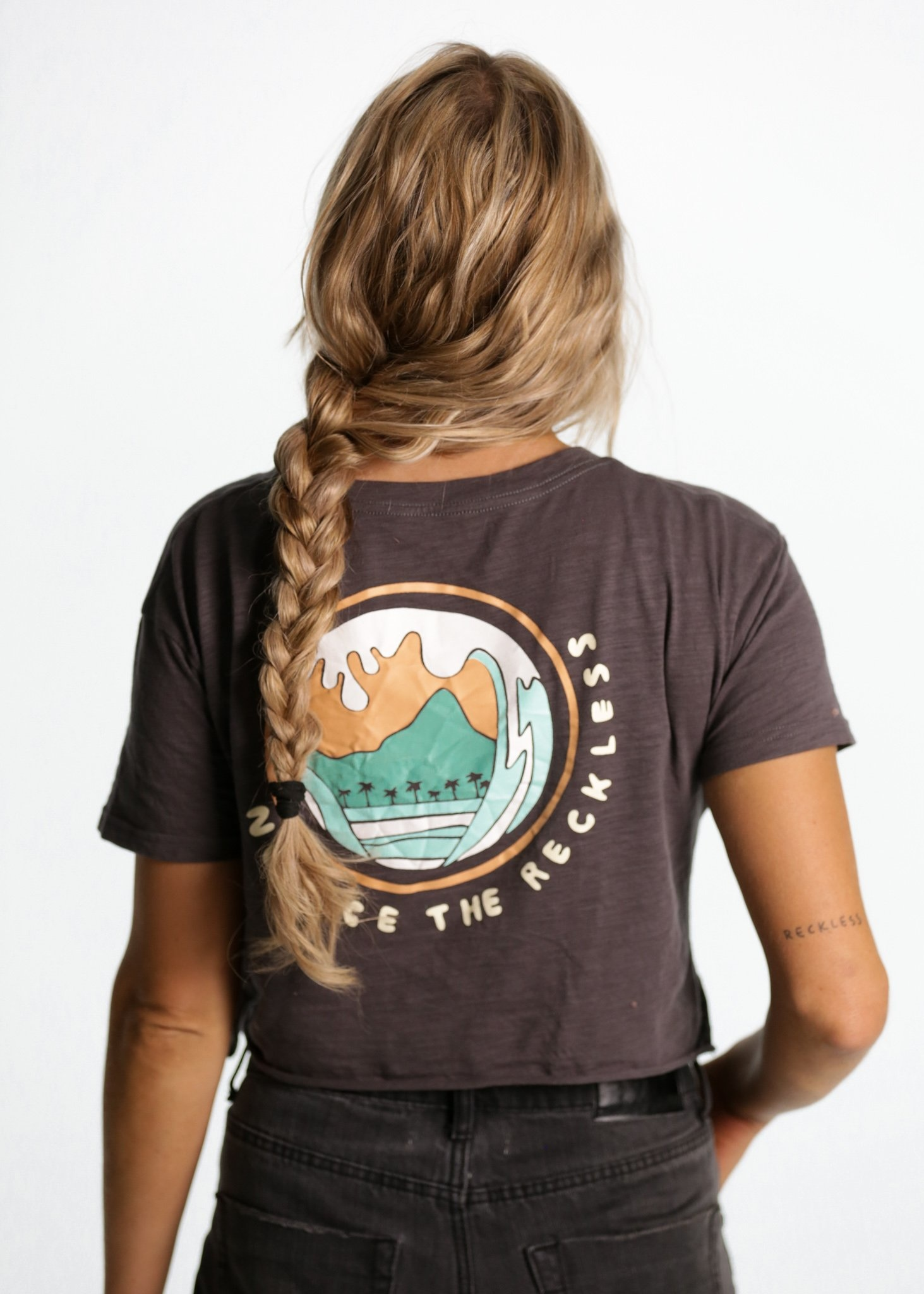 Notice The Reckless Notice The Reckless - Catch The Wave Crop Tee