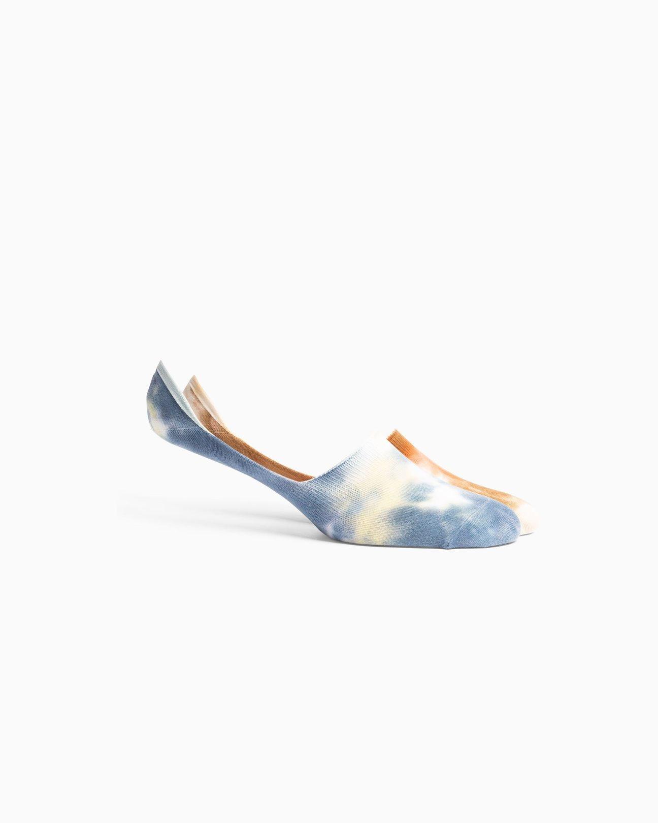 RicherPoorer RicherPoorer - Sherbet NoShow Sock 2PK