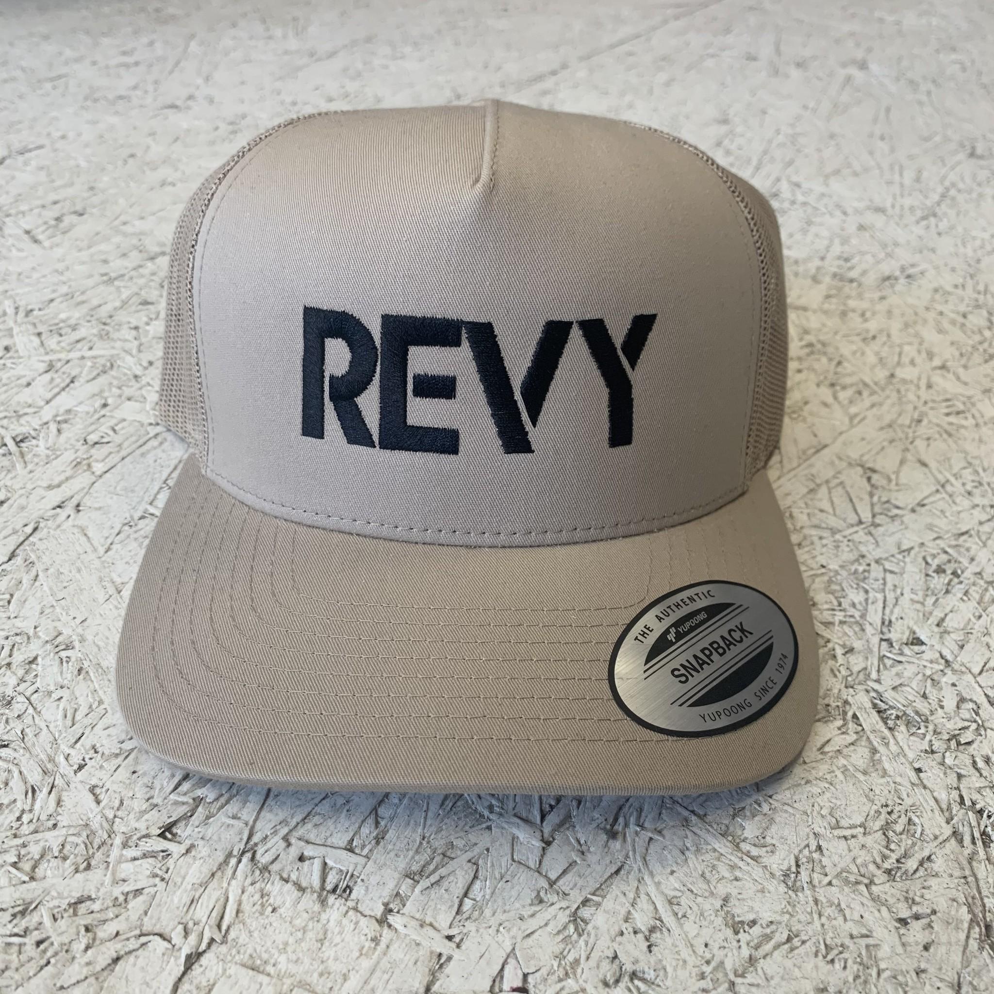 Revelstoke Trading Post Revelstoke - REVY Stamp Curve Brim - Khaki