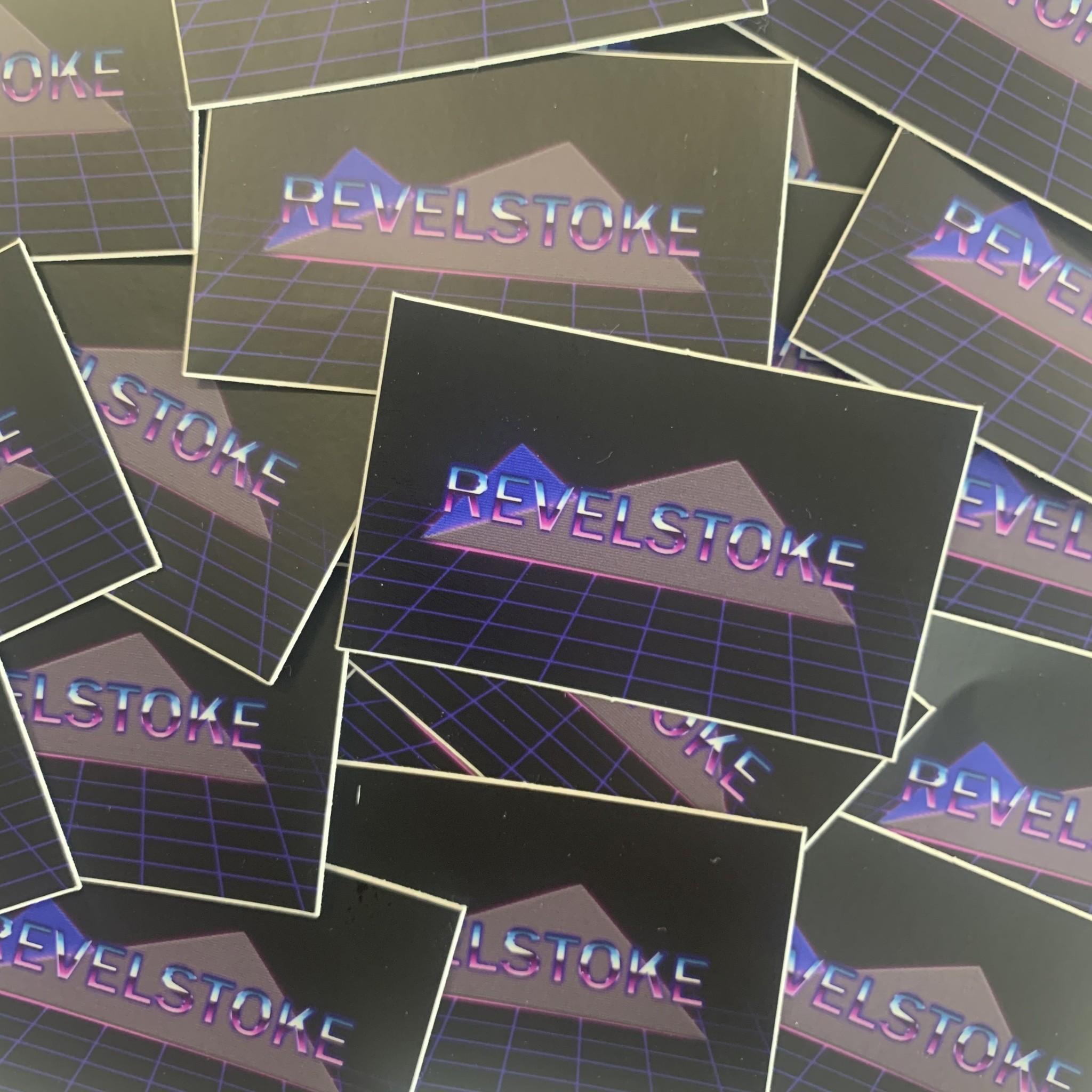 Trading Co. Revelstoke Disco Sticker