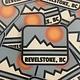 Trading Co. Revelstoke Retro Sticker
