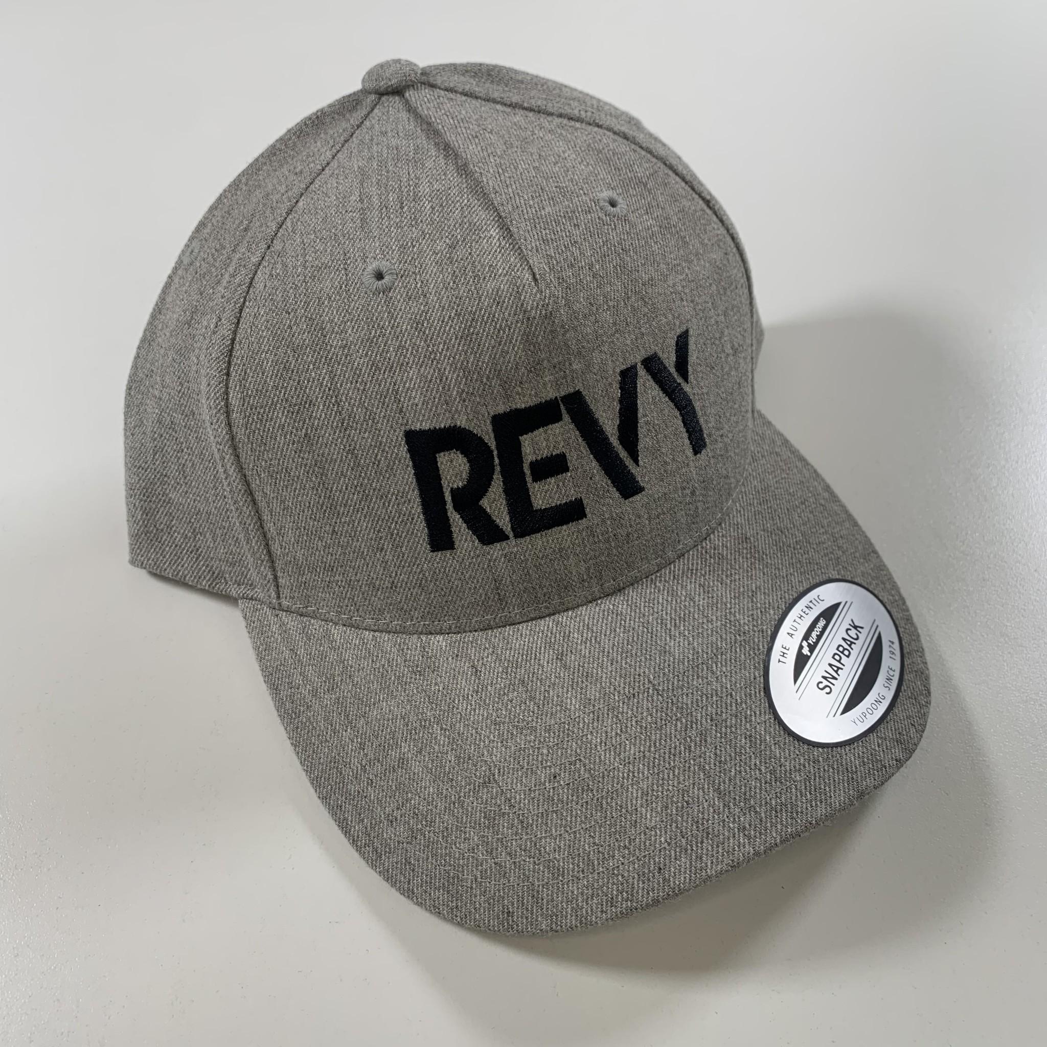 Revelstoke Trading Post Revelstoke - REVY Snapback (Grey & Black)