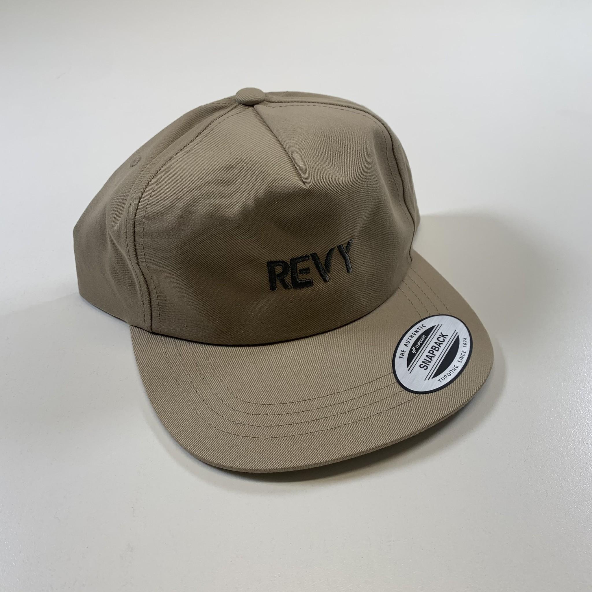 Revelstoke Trading Post Revelstoke - REVY Deconstructed Cap (Khaki)