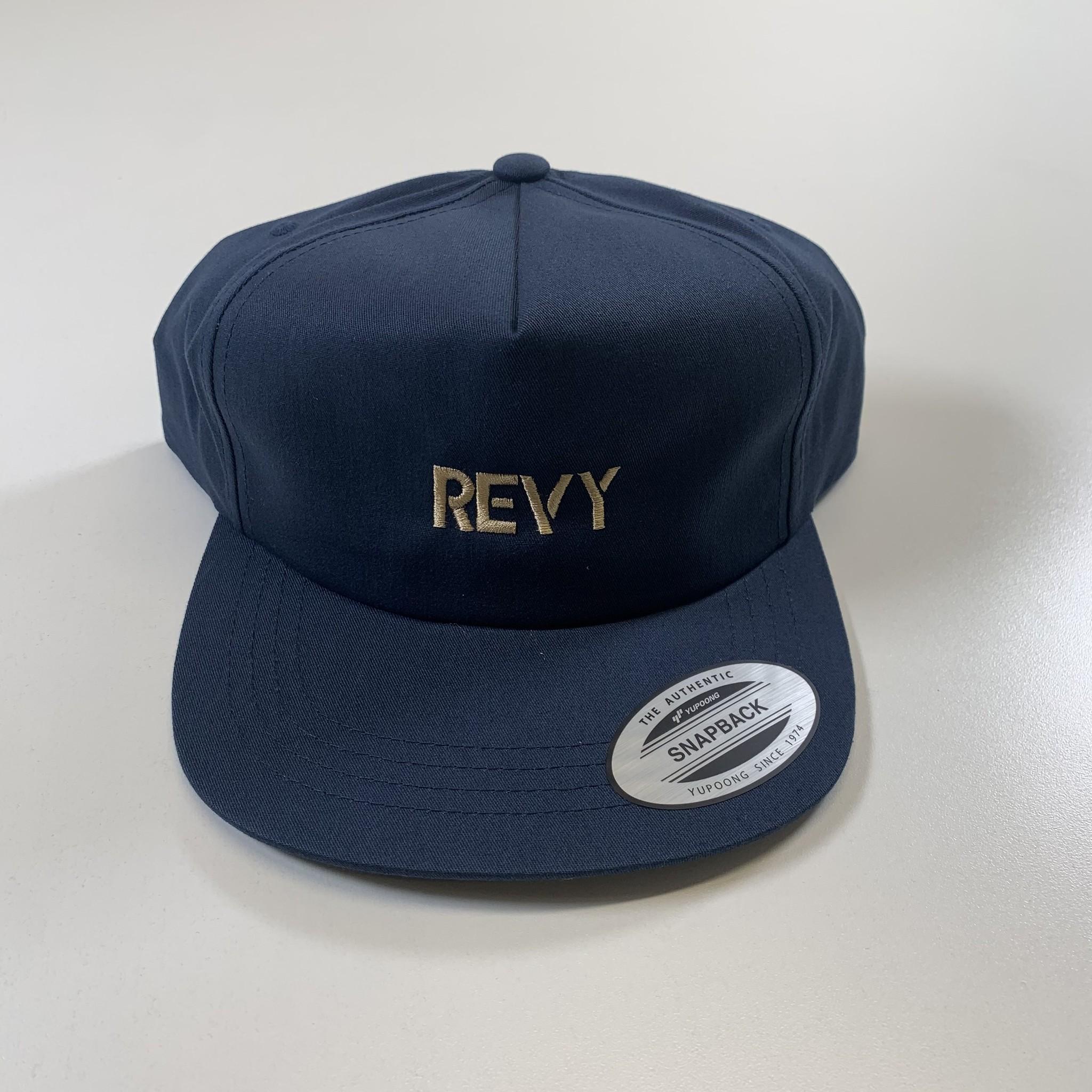 Revelstoke Trading Post Revelstoke - REVY Deconstructed Cap (Navy)