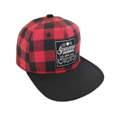 Somewon Collective SomewonCollective - Kids Trucker (Plaid)
