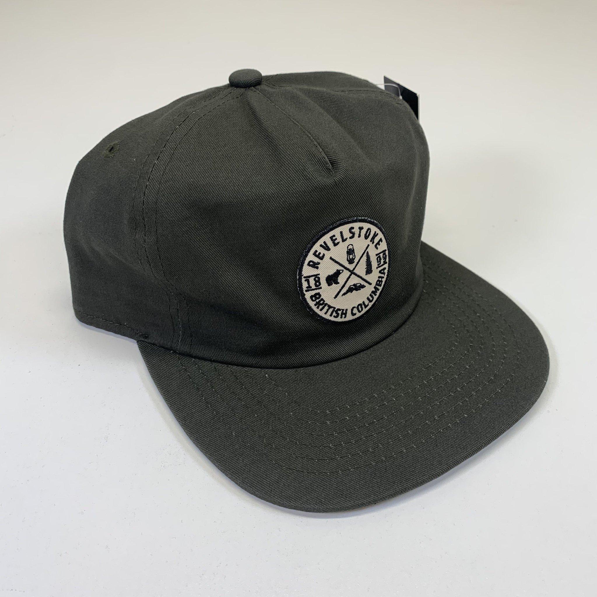 Revelstoke Trading Post Revelstoke - 1899 Patch Cap (Olive)