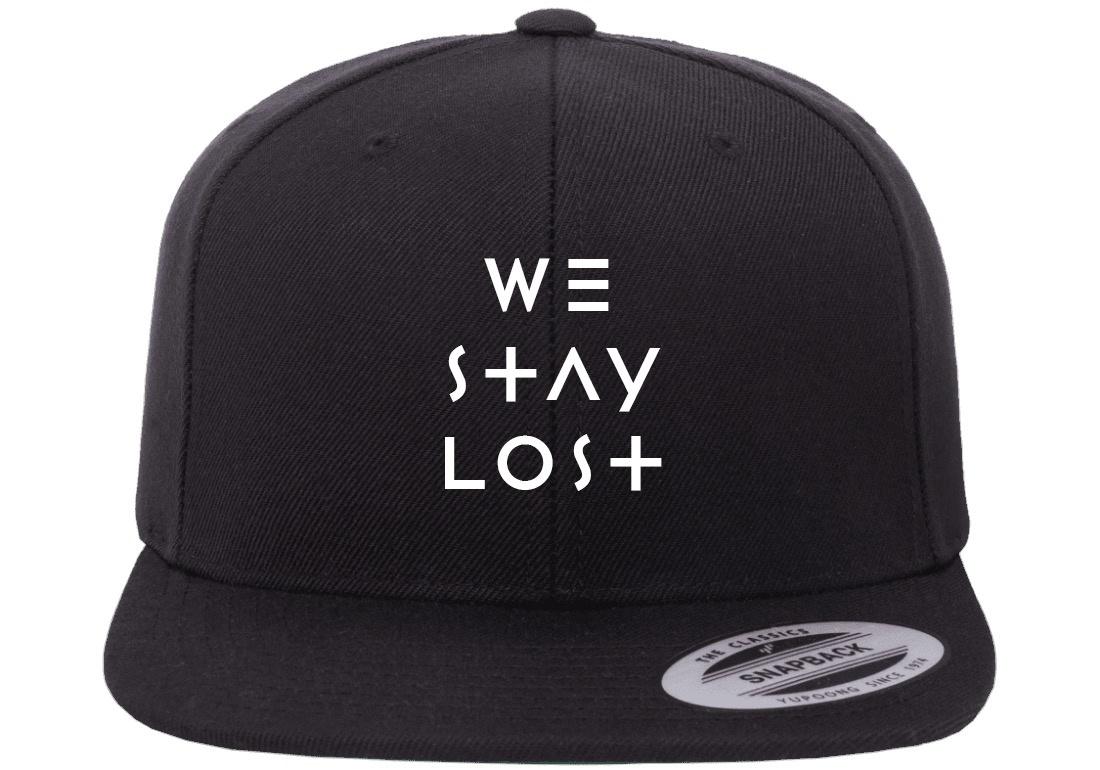We Stay Lost We Stay Lost - WSL Flat Brim (Black)