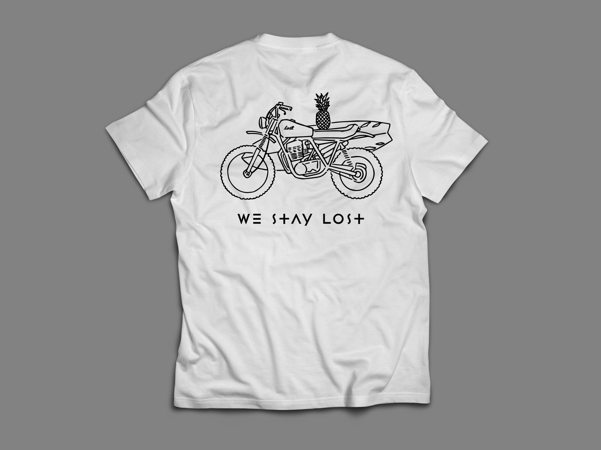 We Stay Lost We Stay Lost - Moto Tee