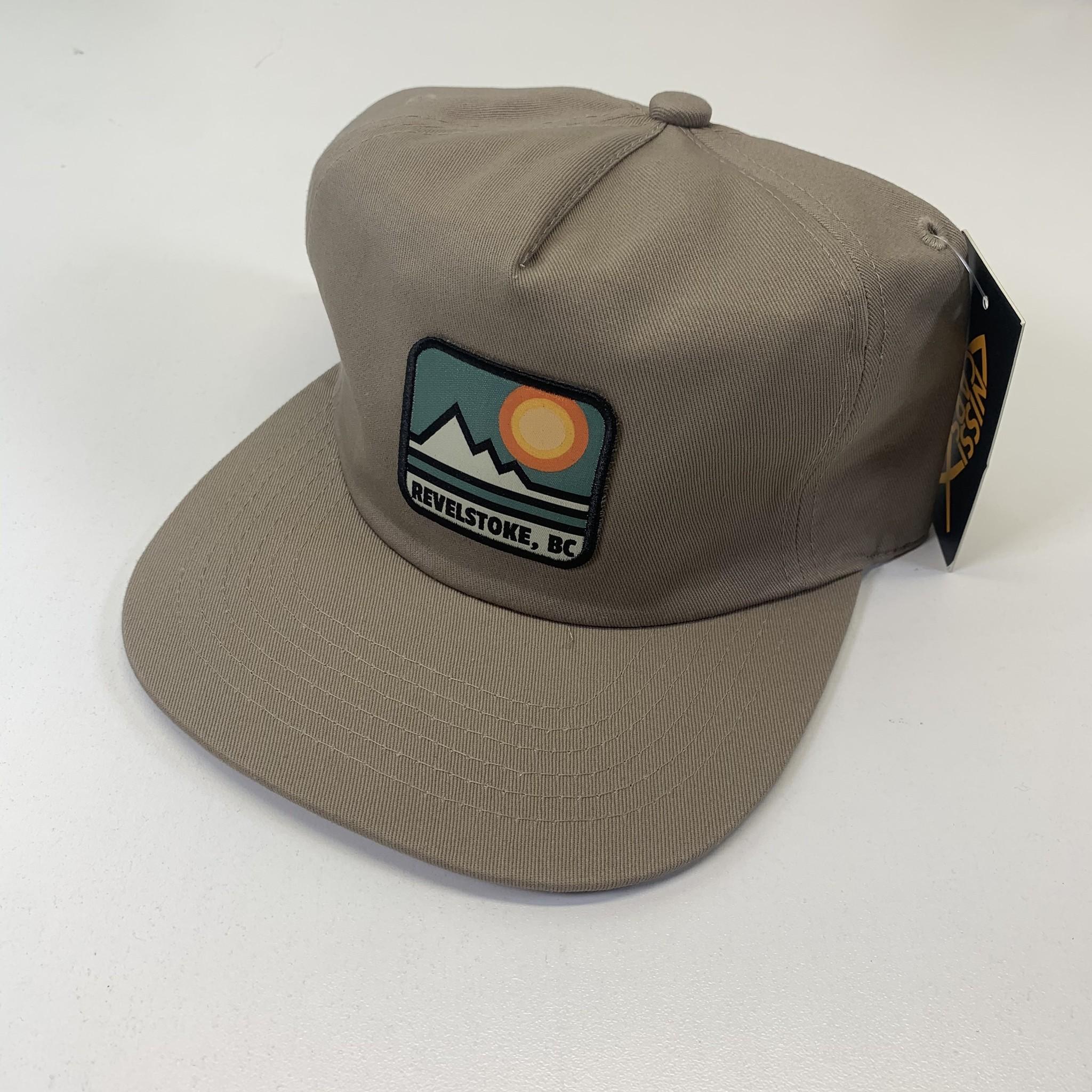 Revelstoke Trading Post Revelstoke - Retro Patch Cap (Khaki)