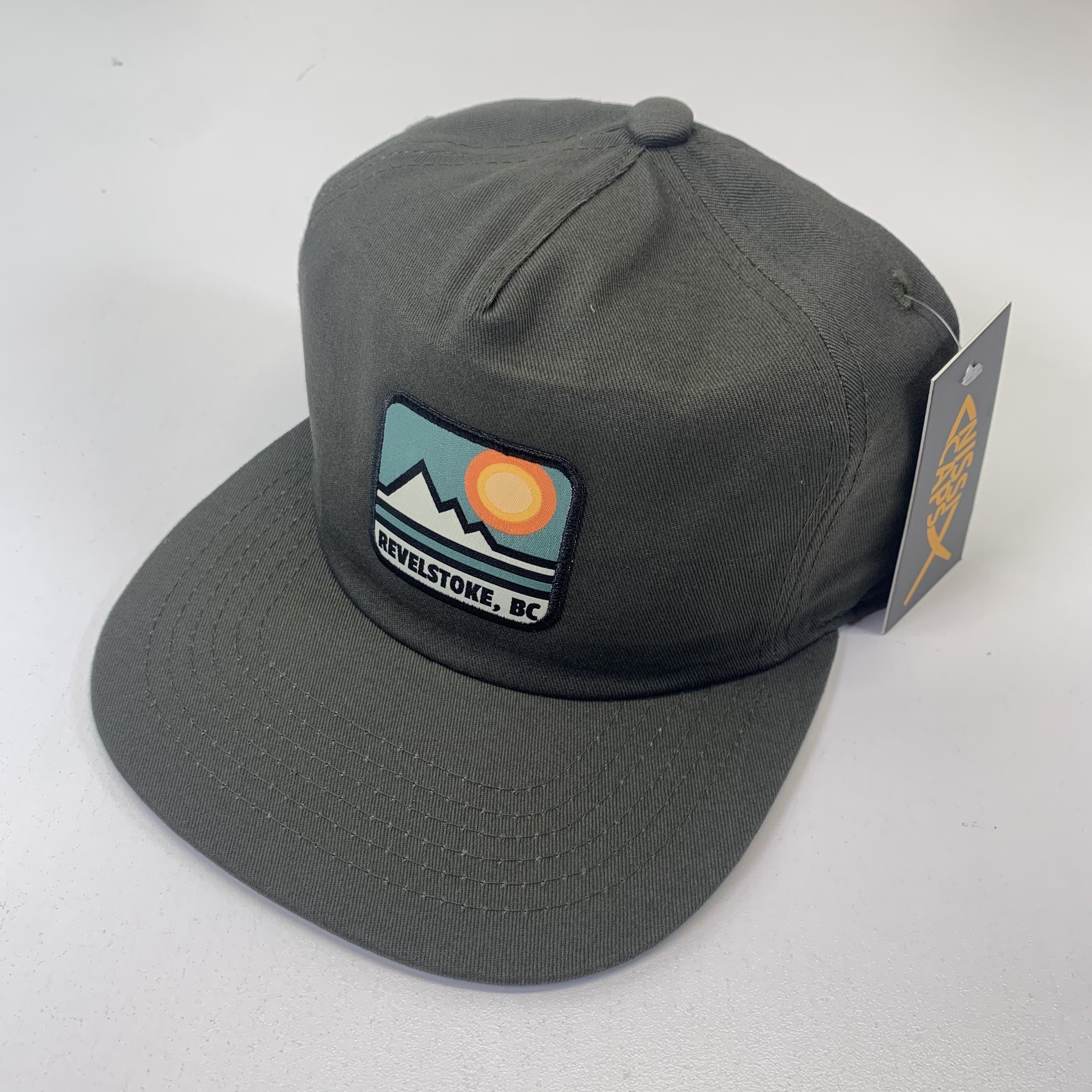 Revelstoke Trading Post Revelstoke - Retro Patch Cap (Olive)