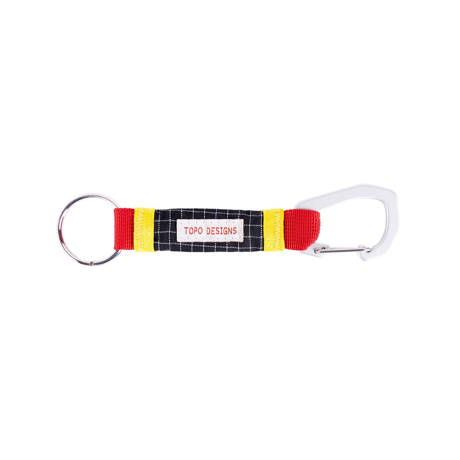 Topo Designs TOPO - Sub Alpine Key Clip (Red)
