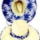 Revelstoke Trading Post Palms Straw Hat