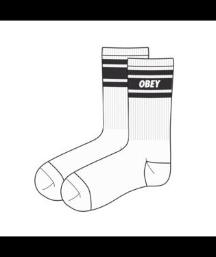 Obey Obey - Cooper II Socks (White/Black)