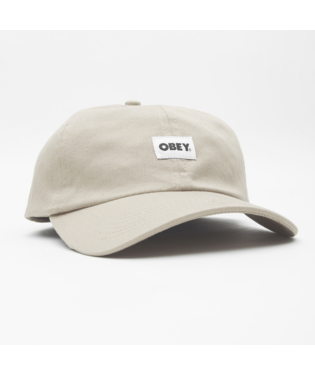Obey Obey - Bold Label Organic 6 Panel