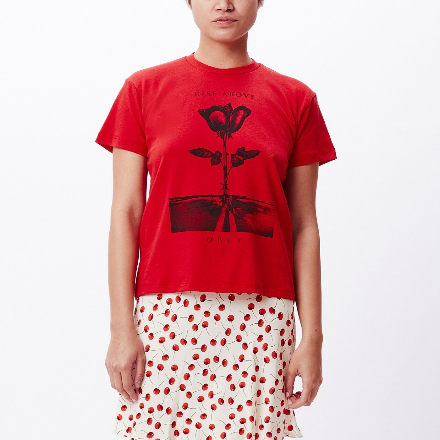 Obey Obey - Ladies Rise Above Sustainable Tee