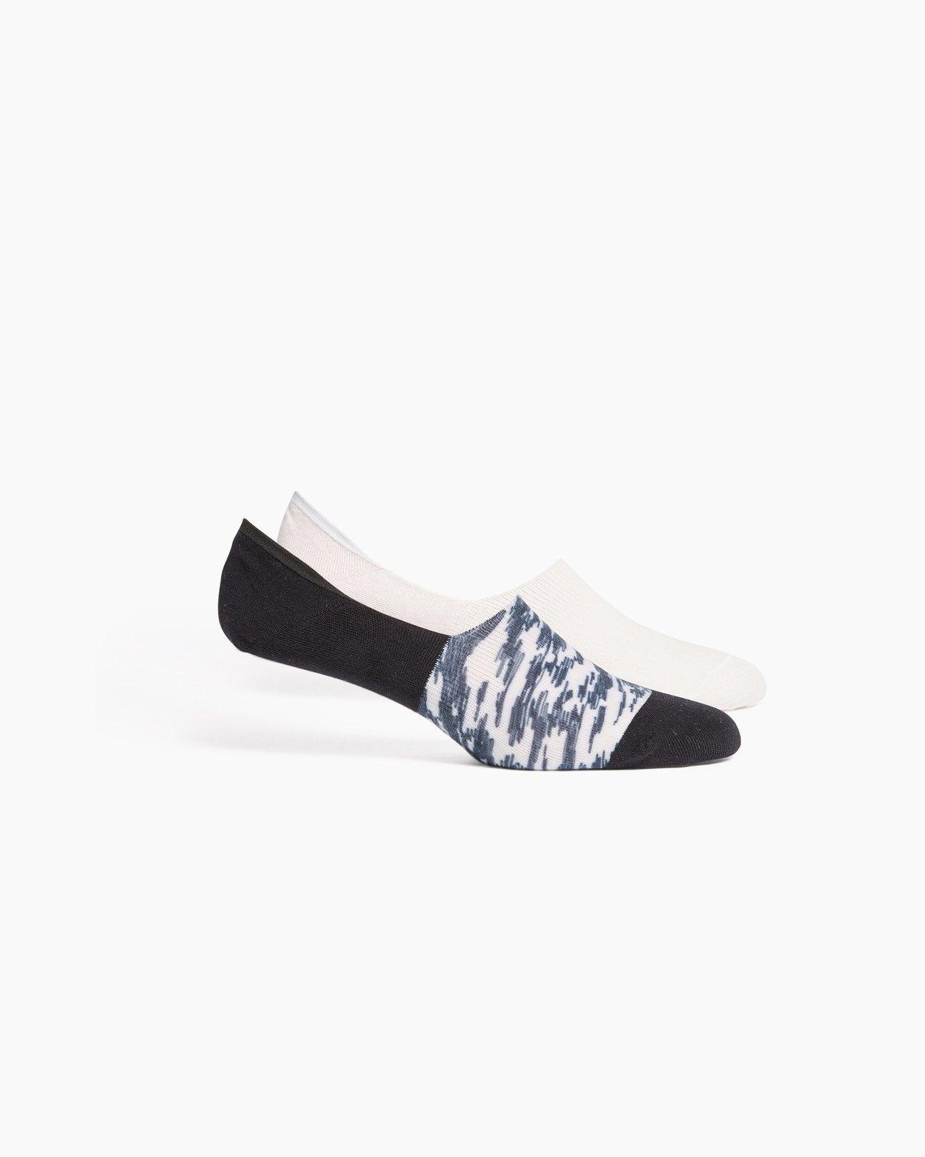 RicherPoorer RicherPoorer - Scibble NoShow Sock 2PK