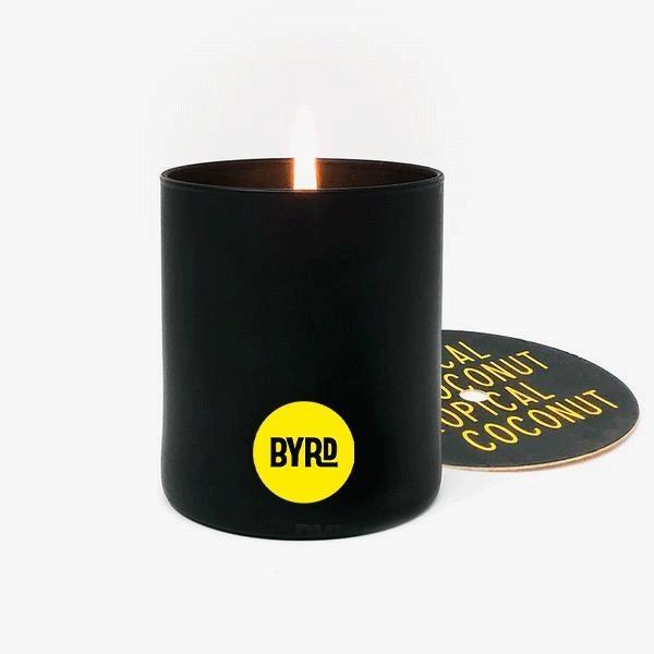 Byrd Byrd - Tropical Coconut Candle