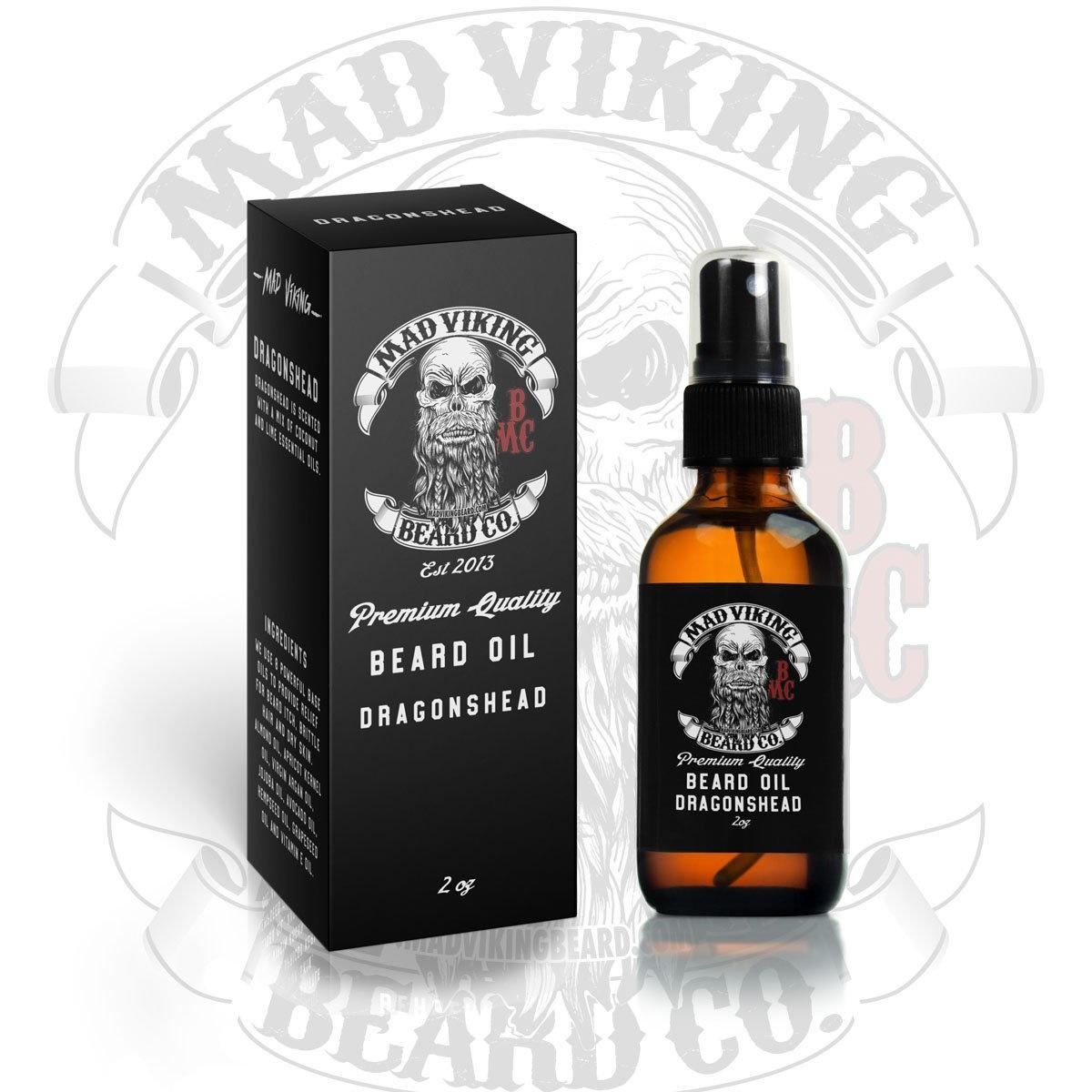 Mad Viking Beard Co. Mad Viking - Dragonshead 2oz Beard Oil