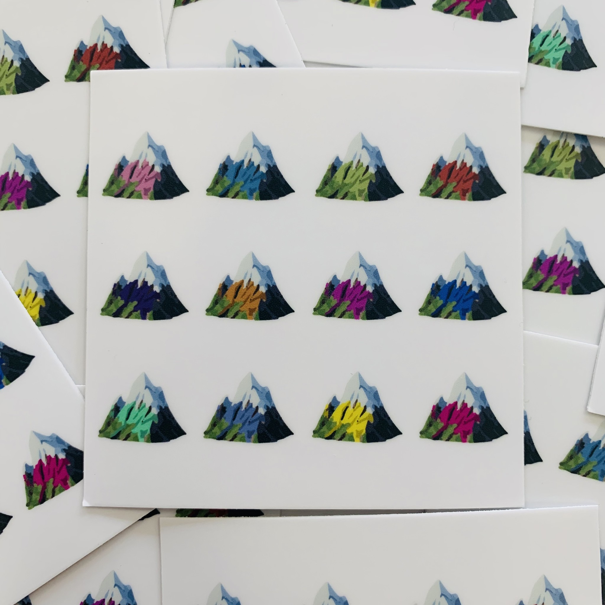 Trading Co. Certified Mountain Town Sticker