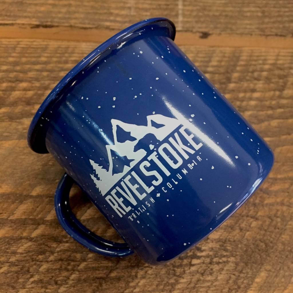 Revelstoke Trading Post Revelstoke Camper Mug (Blue)