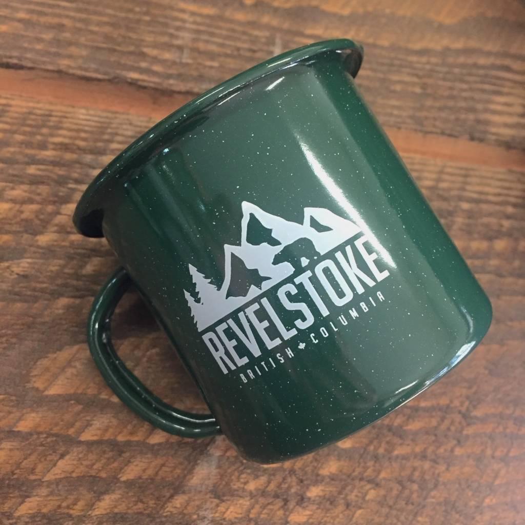 Revelstoke Trading Post Revelstoke Camper Mug (Green)
