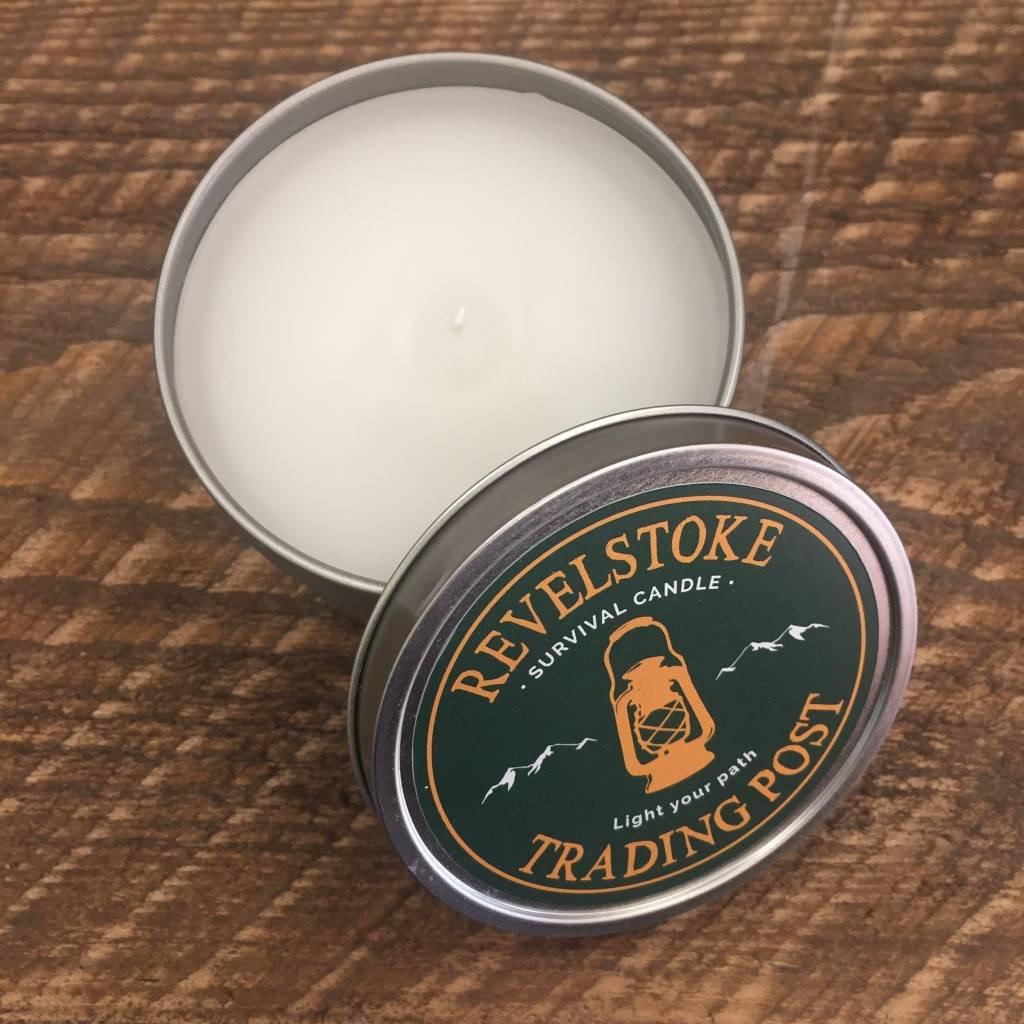 Revelstoke Trading Post Revelstoke Survival Candle (Citronella)