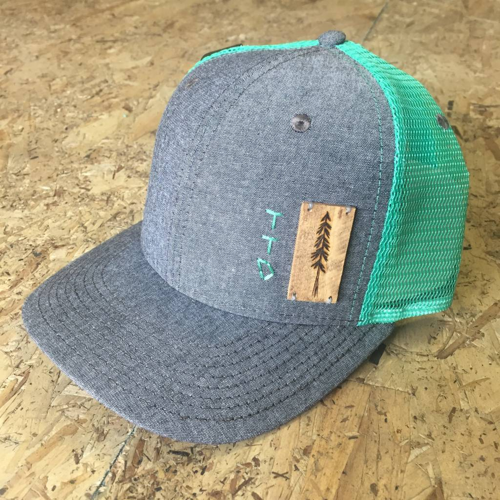 Tiny Timber Designs Tiny Timber Designs - Wooden Trucker (Teal)