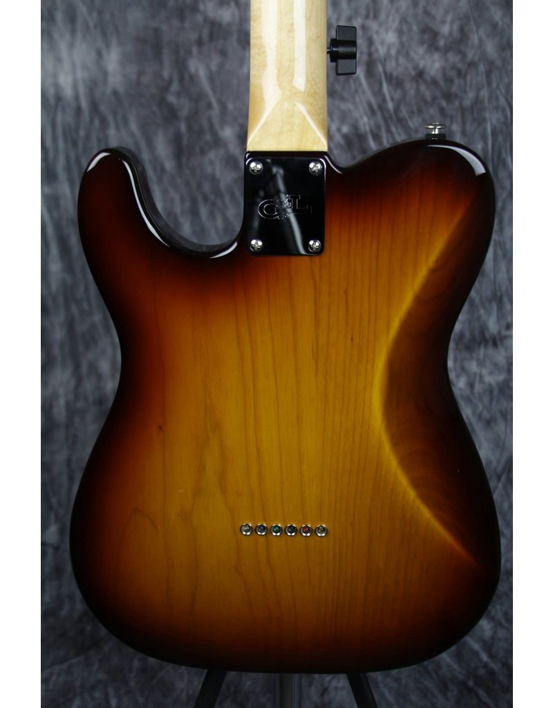 G&L G&L Fullerton Deluxe ASAT Classic Bluesboy Old School Tobacco with Caribbean Rosewood Fingerboard