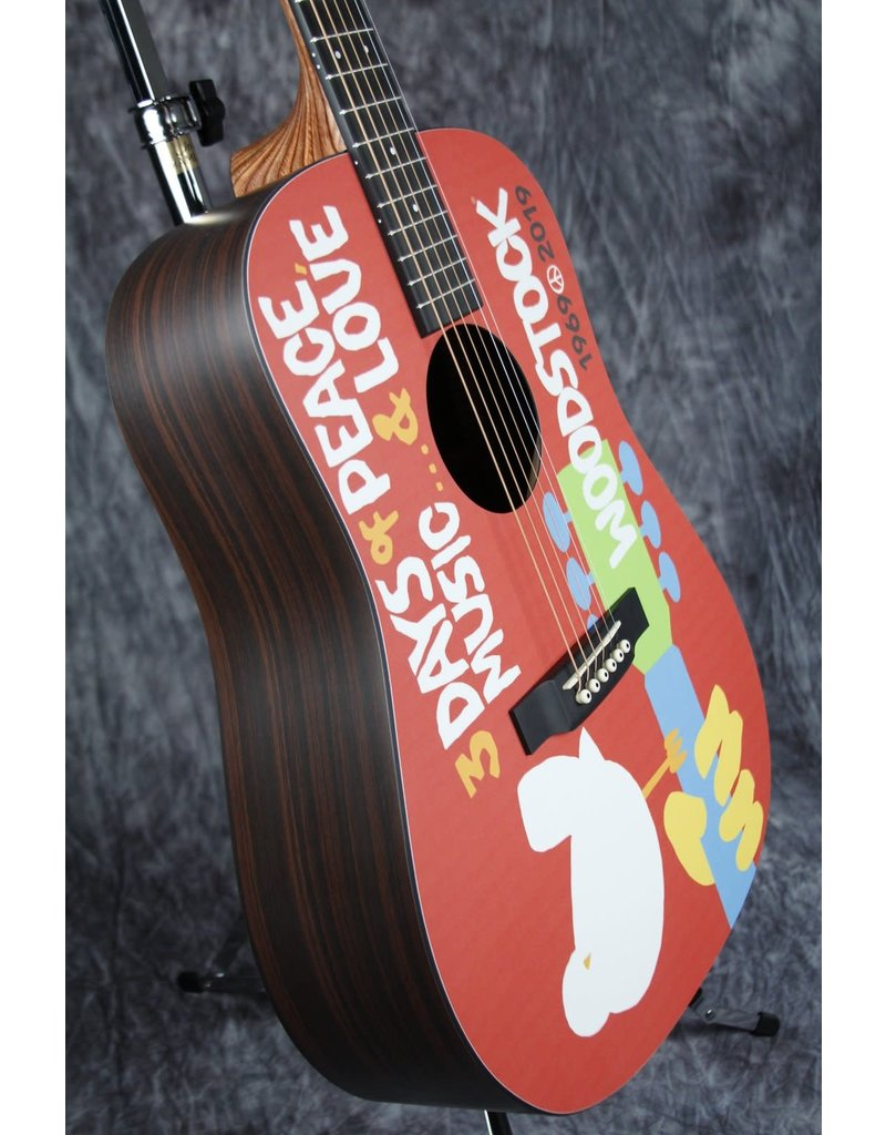 Martin Martin DX Woodstock 50th Anniversary - Woodstock Design