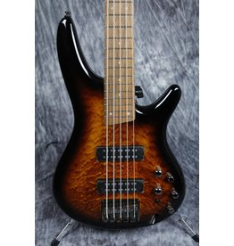 Ibanez Ibanez SR405E  5-String Bass Quilted Maple-Dragon Eye Burst