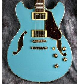 Ibanez Ibanez AS Artcore 6str Electric Guitar  - Mint Blue