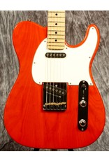 G&L G&L Fullerton Deluxe ASAT Classic Clear Orange with Maple Fingerboard