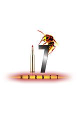 HORNADY - AMMO 17 HORNET, 20 gr V-MAX Superformance Varmint