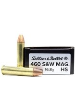 Sellier & Bellot Sellier & Bellot 460 S&W Mag 255gr  JHP