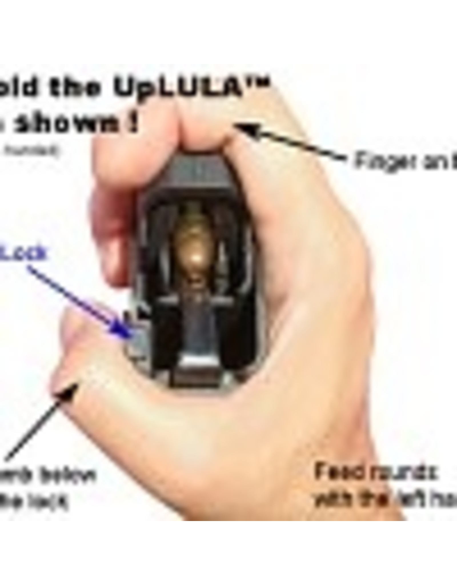MagLula Maglula UpLULA Universal Pistol Mag Load/unload 9MM/45 Black
