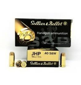 Sellier & Bellot Sellier & Bellot 40 S&W 180 gr FMJ