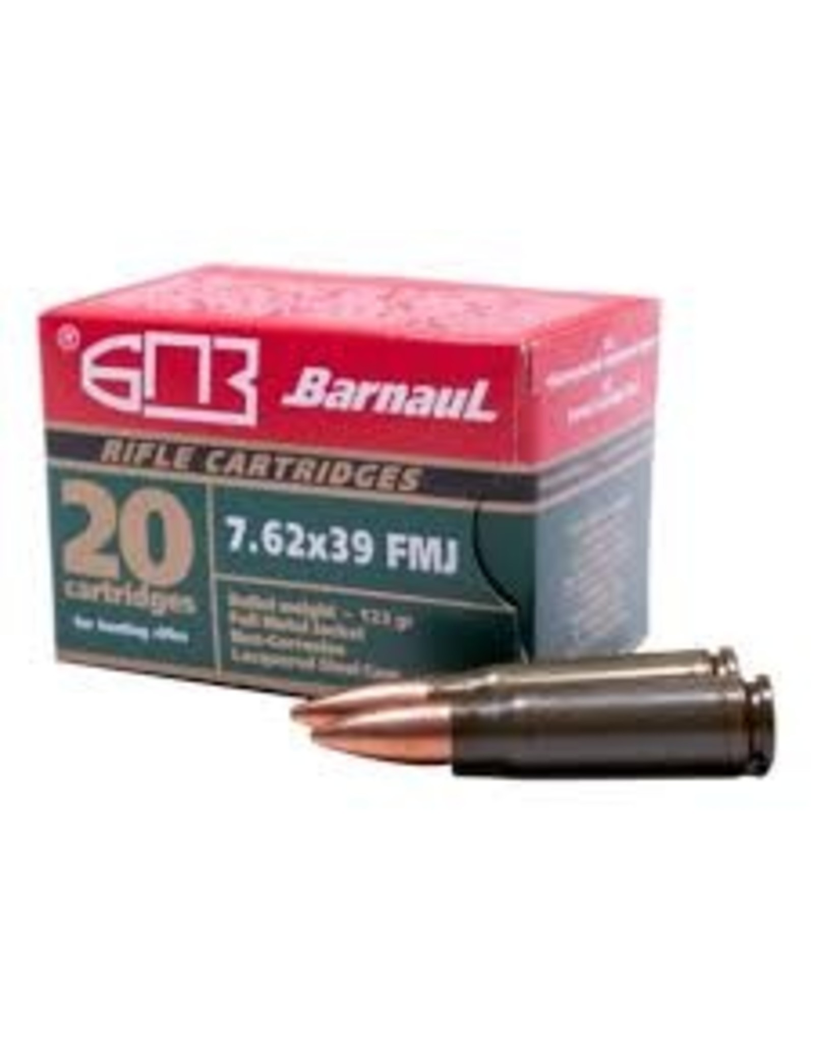 Barnaul Barnaul 7.62X39 125gr Soft Point