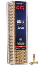 CCI Ammunition CCI 22 LR HS MINI MAG 100/BX