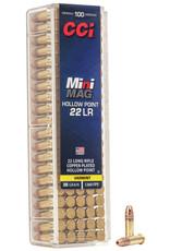 CCI Ammunition CCI 0031 MINI MAG HP RIMFIRE 22L/R