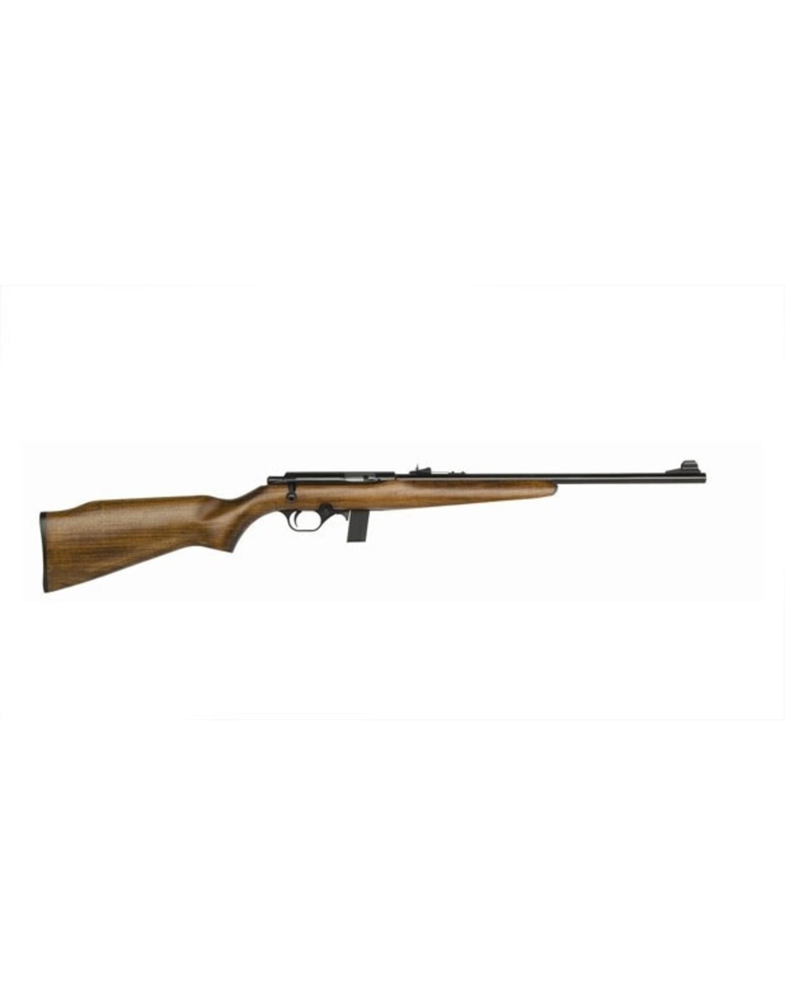 Mossberg Mossberg 38218 802 Plinkster Bolt Rifle 22 LR, RH, 18 in, Blued, Wood