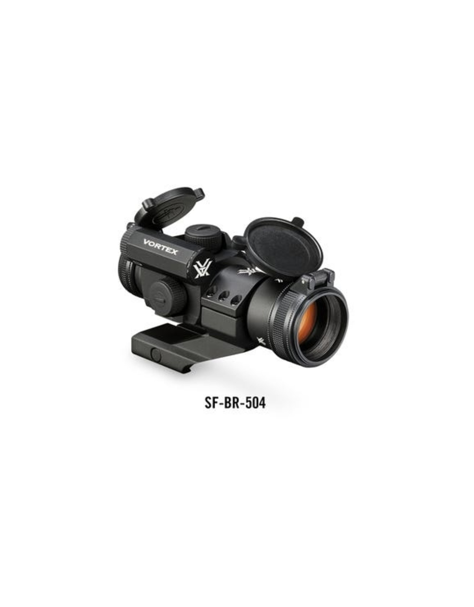 Vortex StrikeFire II Red Dot (4 MOA Red/Green Dot l Lower 1/3 Co-Witness Cantilever Mount)
