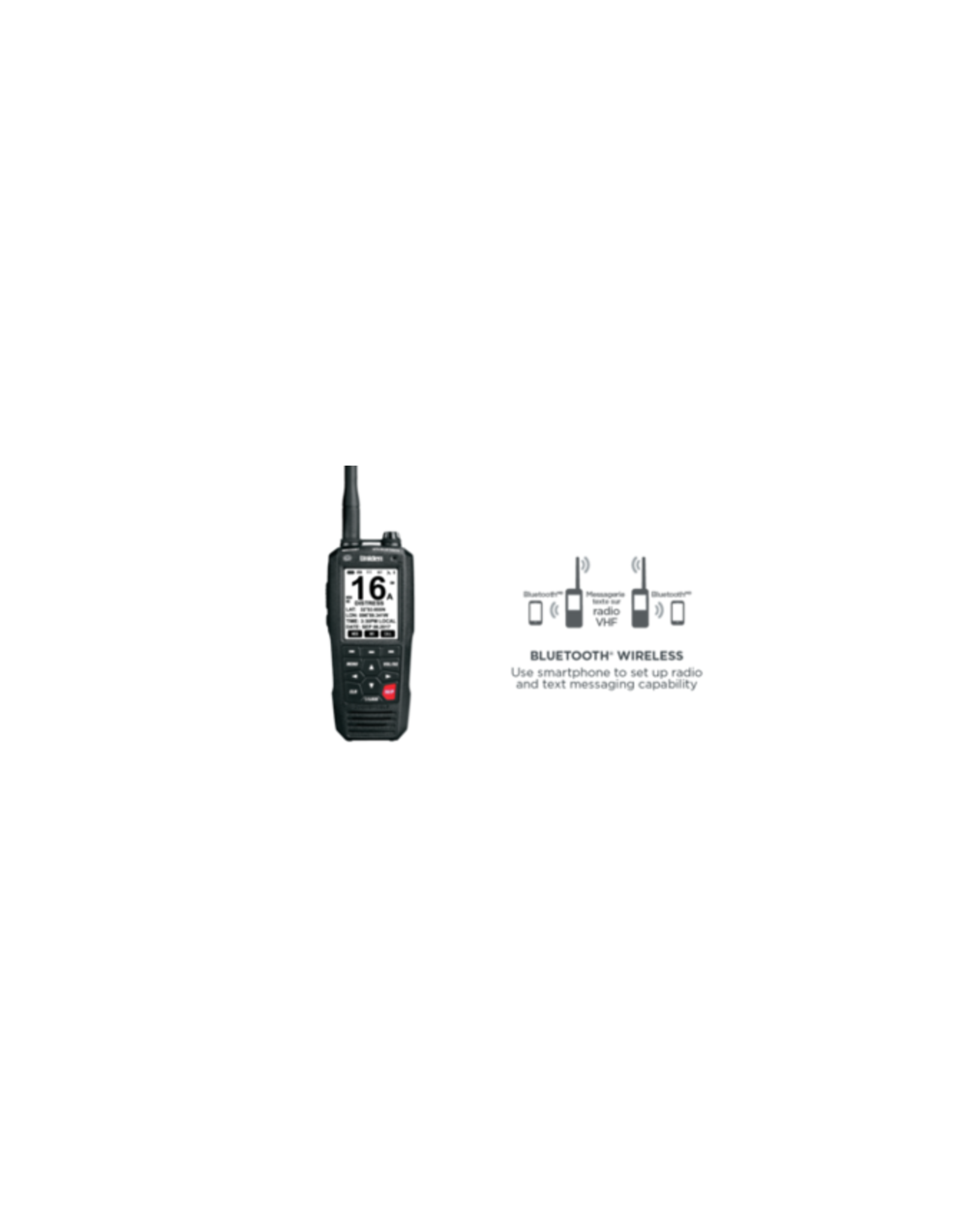 Uniden Uniden MHS335BT Handheld VHF Marine