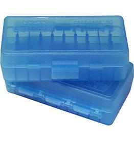MTM Case-Gard MTM P50-44-24 Case-Gard Ammo Box 50 Round Flip-Top 41 44 45 LC